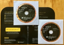 Windows 7 Signature Edition disks