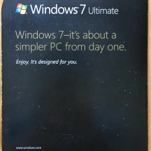 Windows 7 Signature Edition back