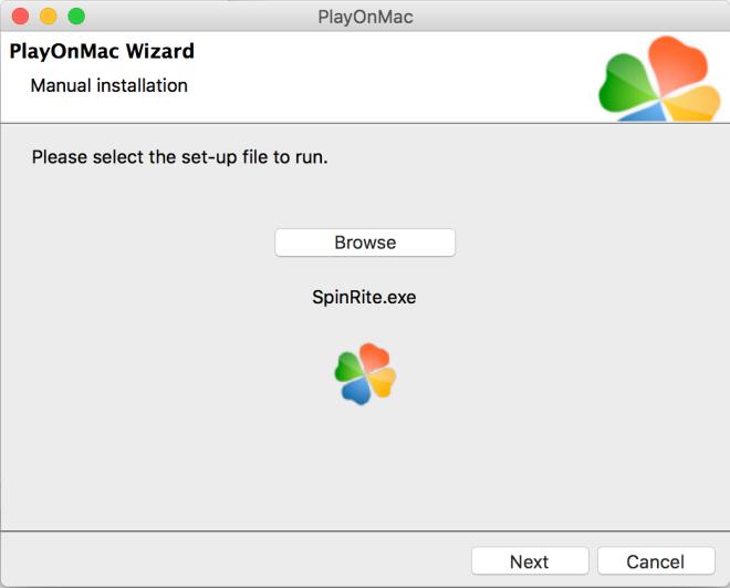 SpinRiteonPlayOnMac