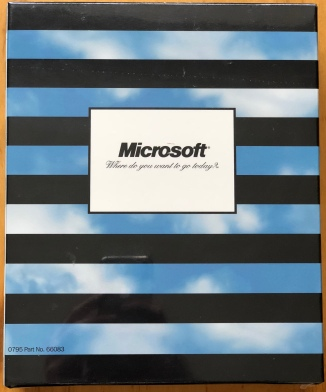 Windows 95 Special Edition; back