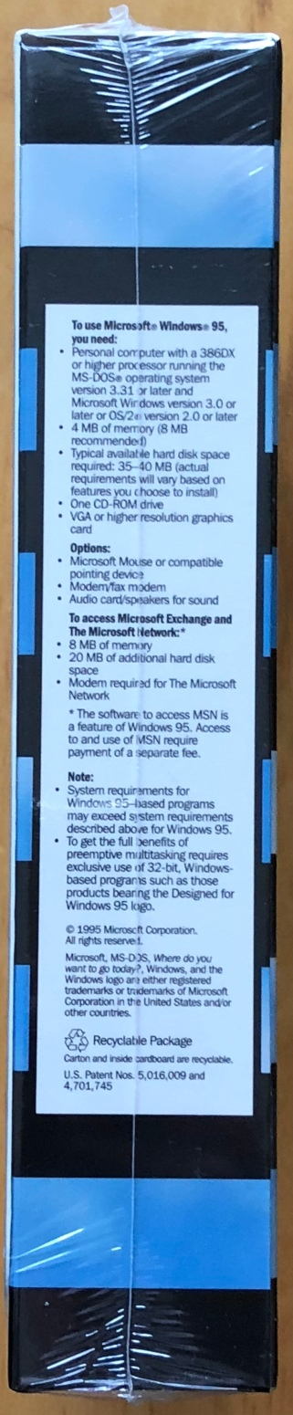 Windows 95 Special Edition; side 2