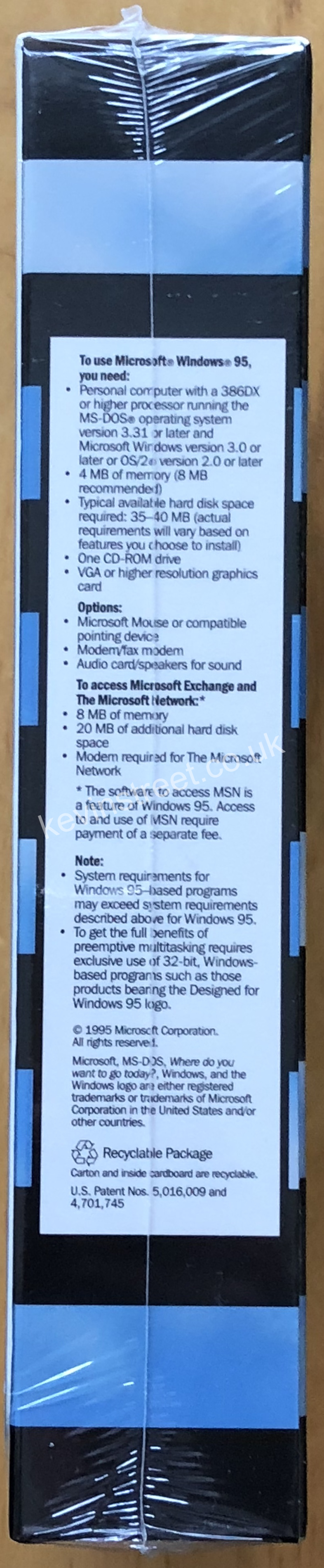 On August 24th, 1995 Microsoft hosted a Windows 95 launch event at their campus in Redmond, Washington. At this event journalists and other attendees