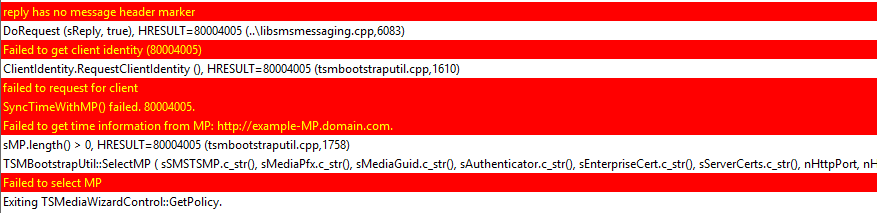 USB PXE Boot Error